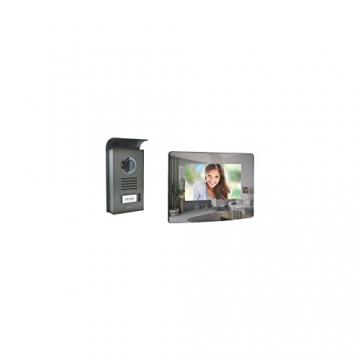 Extel 720282 Mombo Videosprechanlage mit Farbdisplay, 2 Leitungen -