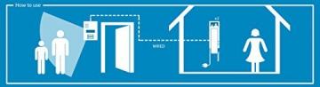 Smartwares Video-Türgegensprechanlage für 2 Teilnehmer, VD62 SW -